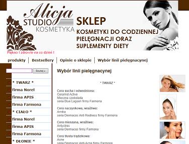 http://sklep.kosmetykaalicja.pl